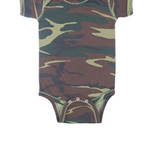 Infant Baby Rib Camouflage Lap Shoulder Creeper
