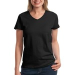 LAT Ladies V Neck T-Shirt