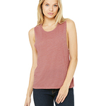 Ladies' Bella Flowy Scoop Muscle Tank