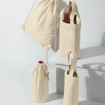 UltraClub Drawstring Wine Bag