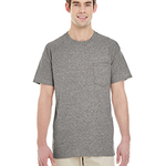 Adult Heavy Cotton™ 5.3 oz. Pocket T-Shirt