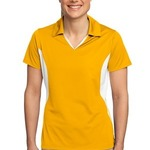Ladies Side Blocked Micropique Sport Wick ® Polo