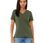 Missy's Relaxed Jersey Short-Sleeve V-Neck T-Shirt