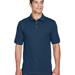 Men's 6 oz. Ringspun Cotton Piqué Short-Sleeve Polo T-Shirt