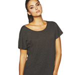 Ladies Tri-Blend Dolman Short-Sleeved T-Shirt