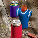 UltraClub Jersey Foam Bottle Holder